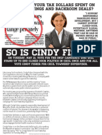 Tired of closed door meetings and backroom deals in Cecil Township? So is Cindy Fisher.