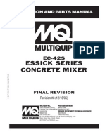 Mixers Towable Concrete Essick EC42S Rev 8 Manual DataId 18822 Version 1
