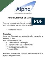 Alpha Condomínios - RH