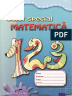 Caiet.special.de.Matematica. Clasa.1. Ed.cd.Press. TEKKEN
