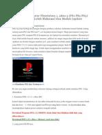 Cara Maen Emulator Playstation 1, 2dan 3 (PS1 PS2 PS3) Di Komputer PC Lebih Maksimal Dan Mudah