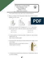 Ficha de Trabalho nº1 - 6º ano