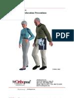 Artificial Hip Dislocation Precautions