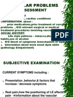 Vascular Problems Assessment