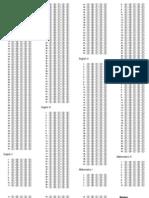 Academic Clinic UPCAT Answer Sheet