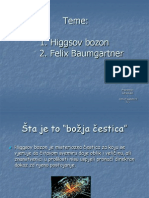 Higgsov Bozon i Felix Baumgartner