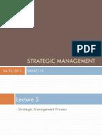 lecture 3 management strategic