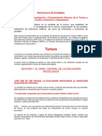 Protocolo de Estambul Resumen