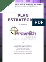 PLAN ESTRATEGICO PROVELITH 2012 DIDACTICO.doc