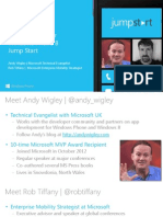 S1 Introducing WP8 Development
