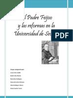 Alicia Rodriguez Alonso. 2o Primaria a. Grupo Expertos. El Padre Feijoo y La Universidad de Sevilla