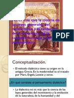 La dialectica y sus características