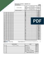 Formato de Consolidado de Notas Por Bimestre o Trimestre