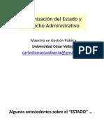 Organización del Estado y Derecho Administrativo