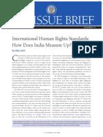 International Human Rights Standards