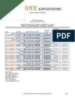 EIF Broadcast Schedule