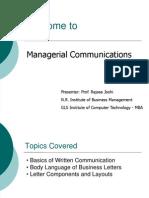 Session-Basics of Written Comm