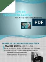EVALUACIÓN EN PSICOLOGÍA CLÍNICA