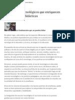 Docentes __ Los recursos tecnológicos que enriquecen las propuestas didácticas