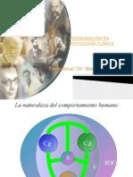 INTERVENCIÓN EN PSICOLOGÍA CLÍNICA