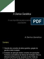 A Deriva Genetica_Exemplos