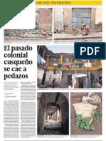 Cusco Pierde Su Pasado Colonial