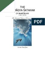Vairagya SatakamOfBharatrihariInPoem