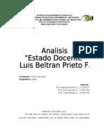 Analisis Del Estado Docente