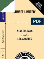 Amtrak - Train Schedule - Sunset-Limited - Schedule-110412
