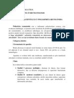 Ingrijirea Pacientului Cu Poliartrita Reumatoida (Autosaved)