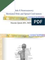 Neurosensory HNP,Spinal Tumors