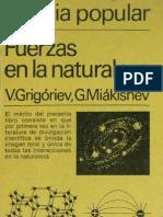 Fuerzas en La Naturaleza Grigoriev Editorial Mir