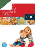 Heinz Recipe Book Babies Toddlers