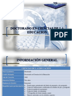 PRESENTACION DOCTORADO