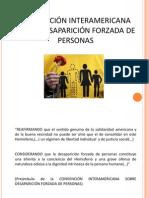 CONVENCIÓN SOBRE DESAPARICIÓN FORZADA DE PERSONAS[1]