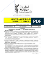 Medidas Ambientales Del D.F.