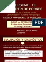 2. EVALUACIÓN Y DIAGNÓSTICO EN  PS. EDUCATIVA01