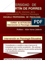 3. INTERVENCIÓN EN  PS. EDUCATIVA