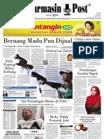 Banjarmasin Post edisi Senin 20 Mei 2013