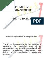 Operations Management b2b
