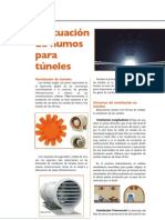 Articulo Evacuacion de Humos en Tuneles - Revista Obras Urbanas