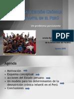 La Desnutrición en el Perú