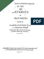 Mayamata