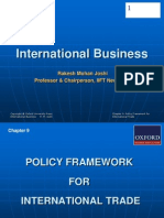 288 33 Powerpoint Slides Chapter 9 Policy Framework International Trade