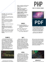 PHP Pamphlet
