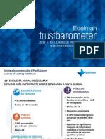 Barómetro de la Confianza de Edelman 2013