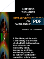 Inspiring Thoughts of Swami Vivekananda on Faith and Strength -