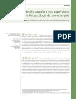 Papel do endotélio vascular na fisiopatologia da pré-eclâmpsia
