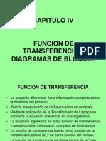 4 Funcion Transferencia y Diagrama de Bloques
