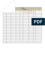 Modelo de Mapeamento de Processos